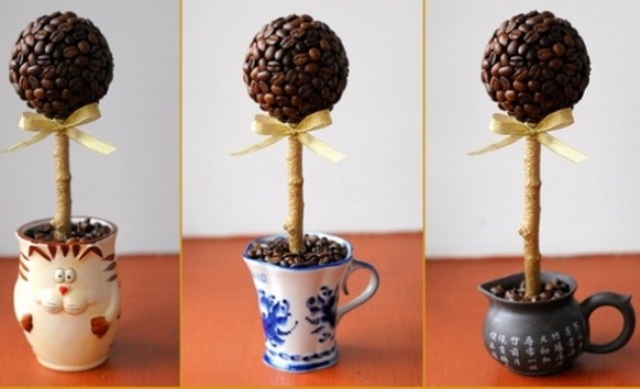 сделать кофейное дерево своими руками инструкция с видео
