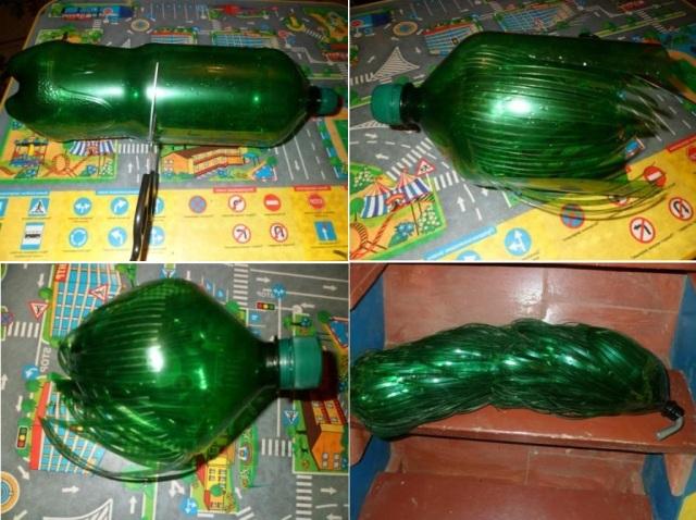 Мастер-класс пальма из пластиковых бутылок своими руками