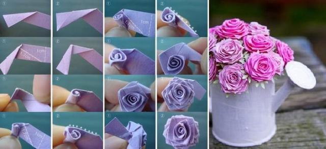 Розы из ткани собственными руками