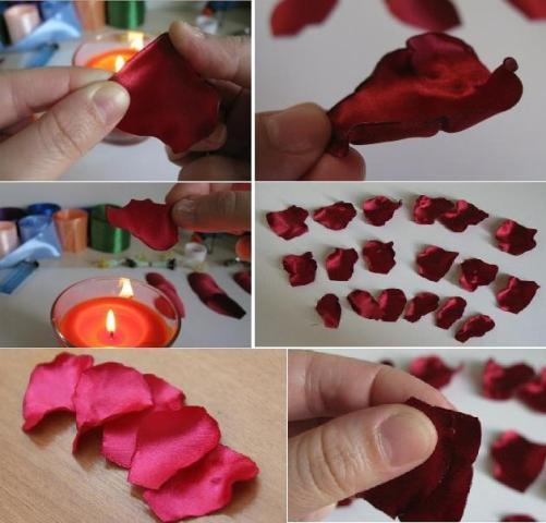 Своими руками из лепестков роз поделки