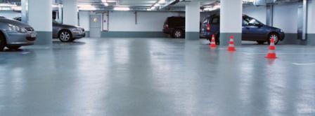Бесцветная пропитка бетонного покрытия