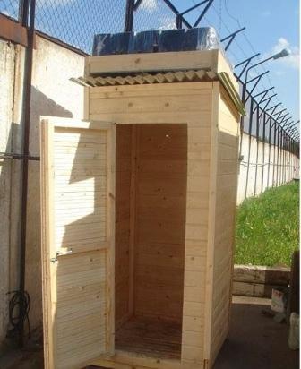 как можно построить простой летний душ на даче своими руками