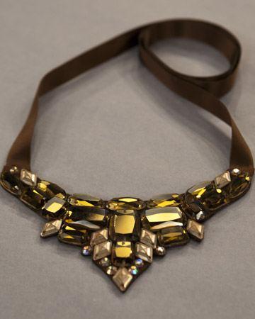 ожерелье из камней делаем своими руками