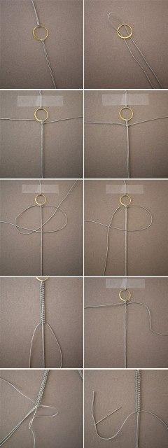 Мастер класс, как сделать простой браслет