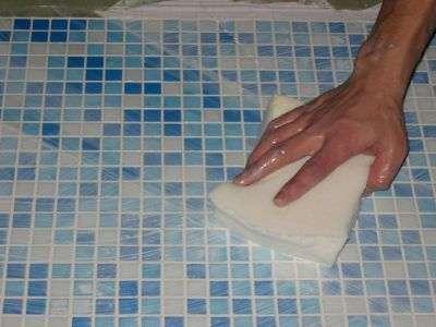 чем помыть кафель в ванной чтобы блестела