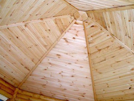 Делаем крышу деревянной беседки своими руками