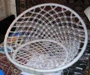 готовое оплетенное кресло - гамак