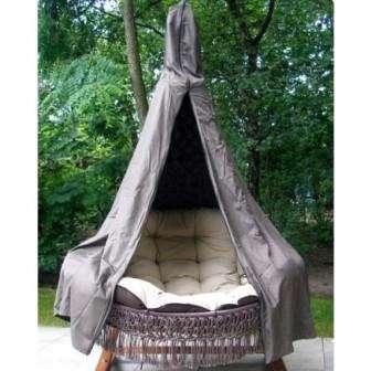 Мастер-класс подвесное кресло для дачи