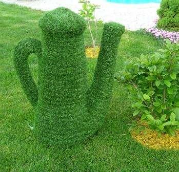 Фото скульптуры из растений