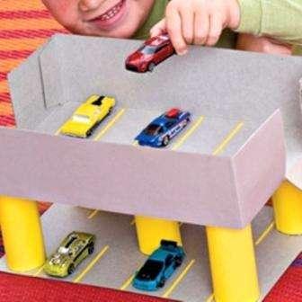 Ваш малыш даже в однокомнатной квартире найдет себе уютное место для игр