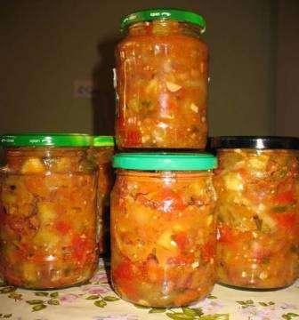Простой рецепт салата из кабачков на зиму