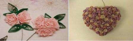 Готовый цветок можно использовать для украшения открытки, шкатулки или других изделий ручной работы.