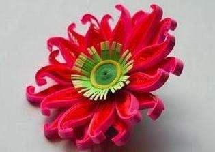 объемные цветы квиллингом