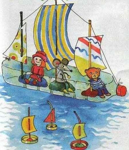 Можно смело давать кораблик ребенку, его можно использовать и в ванной дома, и на улице
