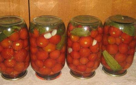 консервация помидоров на зиму