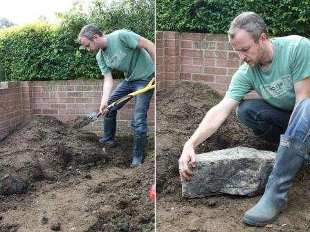 Каменистый сад можно установить и в тени, и под прямыми солнечными лучами