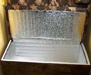 Ящик для хранения картофеля с дополнительным подогревом
