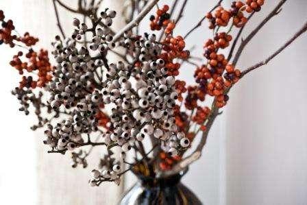 Осенние ягоды как материал для украшений