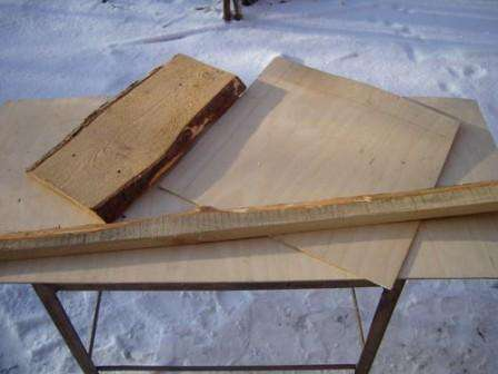 Как сделать лопату для уборки снега, фото МК