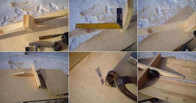 Металл, который послужит для укрепления самодельного инвентаря для уборки снега.