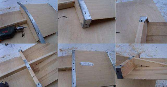 Обработка. Когда инструмент собран, необходимо пройтись по черенку наждачной бумагой, чтобы не было никаких изъянов