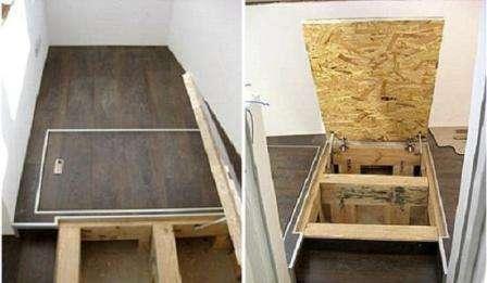 Если вы житель первого этажа, вы можете очень выгодно использовать место под балконом