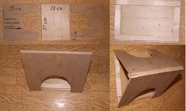 Сделать кормушку из фанеры своими руками смогут даже начинающие мастера, которые имеют небольшой опыт работы с деревом. Для того чтобы изготовить два одинаковых элемента,