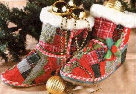 Чулок Санта Клауса своими руками
