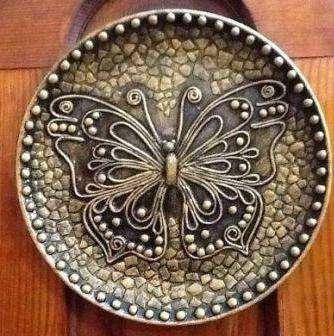 Даже тарелку можно превратить в настоящее произведение искусства.