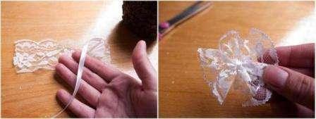 Затем можно добавить небольшое украшение на вашу кофейную чашку.