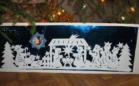 Шаблоны рождественского Вертепа:
