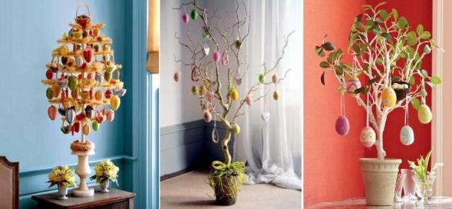 Но еще можно украшать дерево цветами, которые только появляются весной.