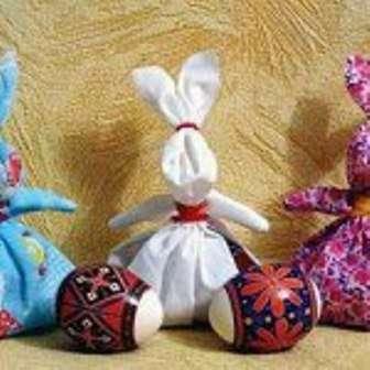 Тканевый Пасхальный Кролик своими руками