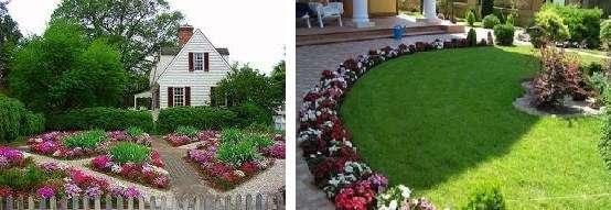Клумба – это один из самых распространенных видов цветника, который может иметь круглую, квадратную, прямоугольную или какую-то другую форму. Цветы в клумбу высаживают симметрично, рядами или сложными геометрическими фигурами. Для того чтобы клумба цвела круглый год, тщательно подбирают растения.