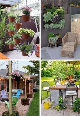 Если хотите, чтобы двор загородного дома или дачи выглядел красиво все лето, не забывайте о растениях, которые можно высадить в горшки или подвесные кашпо.