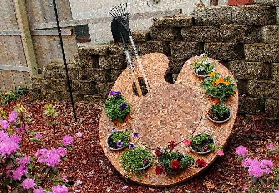 что сделать из фанеры для сада и огорода