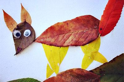 поделки для детского садика осенние