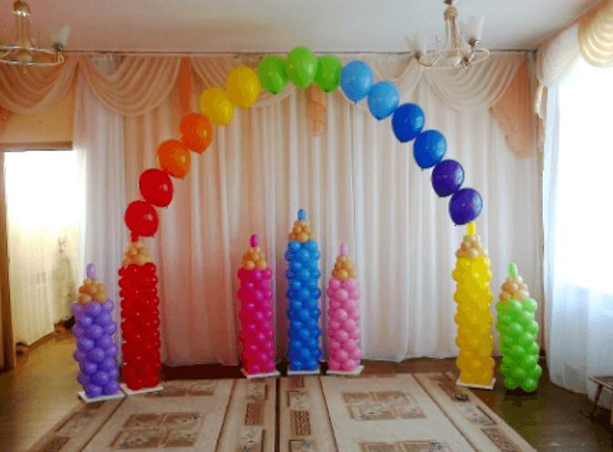 как украсить детский сад на 1 сентября