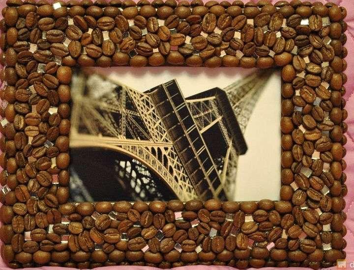 сделать поделки кофейных зерен