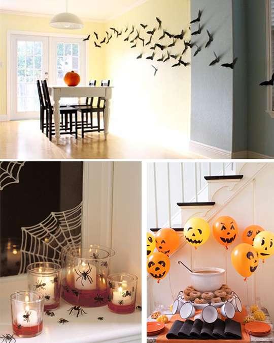 украшение дома своими руками на хэллоуин
