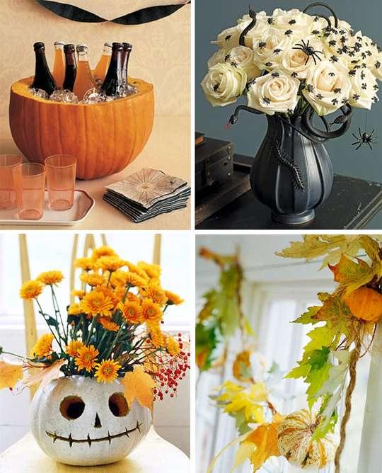 идеи украшения дома на хэллоуин