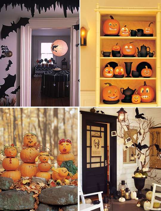 хэллоуин украшение дома