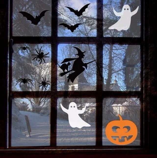 украшение дома на хэллоуин своими руками