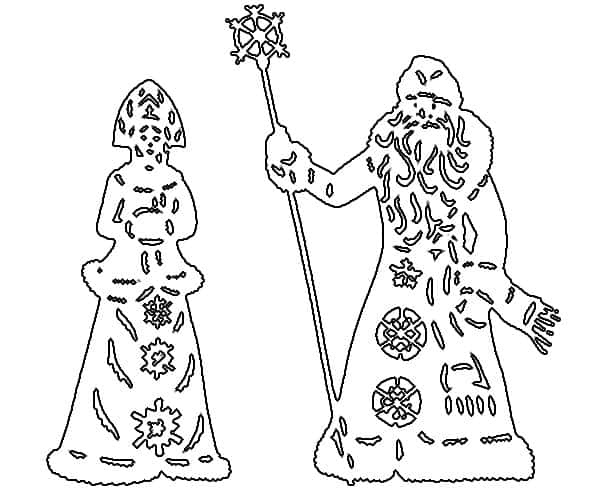новогодние орнаменты и узоры трафареты распечатать