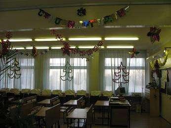 идеи как украсить класс к Новому году 2021