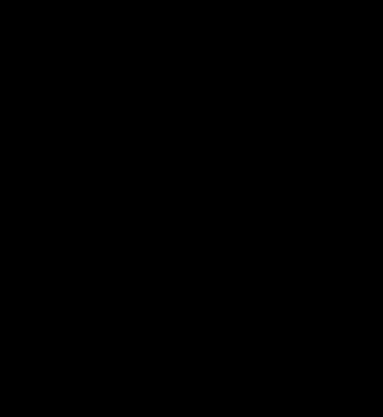 трафарет: символ 2021 года - БЫК