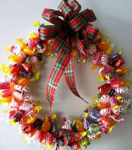 подарки детям на новый год своими руками из конфет