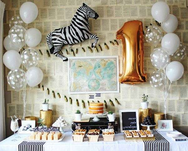 украсить комнату на день рождения ребенка 1