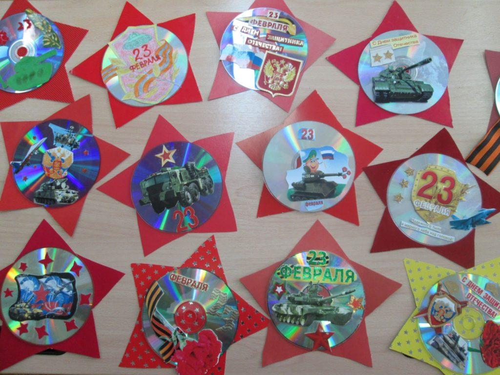 подарки на 23 февраля в детском саду своими руками
