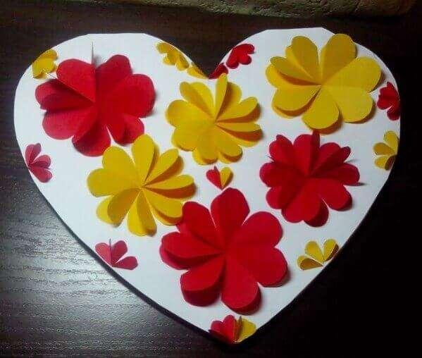 валентинки сделанные детьми